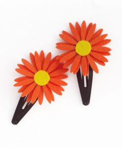 orange_daisy_hairclips